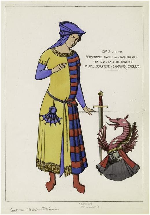 6e6b685905c8 Abiti Medievali