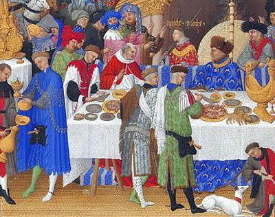 Galateo a tavola medioevo ordine delle lame scaligere - Ordine portate galateo ...